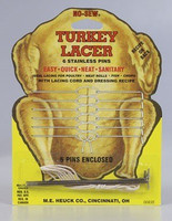 No Sew Turkey Lacer