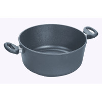 Woll Diamond Plus Irregular Open  6.3-quart Stock Pot