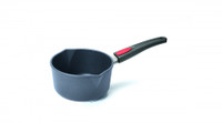 Woll Titan Plus Irregular Open 2.1 qt. Sauce Pan with Pour Spouts and Detachable Handle