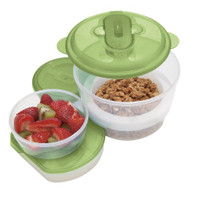 Oggi Chill To Go Food Container with Foldable Spoon