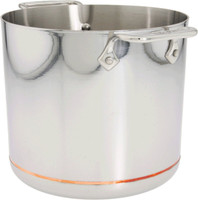 All-Clad Copper Core Irregular Open 7 qt. Stock Pot