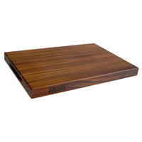 20 x 15 x 1.5'' Walnut Edge Grain Cutting Board