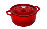 Swiss Diamond 6.9-quart Cast Iron Round Casserole