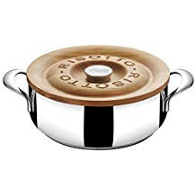 Lagostina 4 qt Casserole with wooden lid