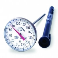 CDN Large Dial 0-220 F Thermometer