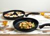"Swiss Diamond XD Cookware Set - 9"" and 11"" Fry Pans"