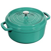 Staub Turquoise Round 4 qt Cocotte