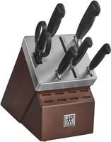 Zwilling FOUR STAR 7 Piece Self Sharpening Knife Block Set