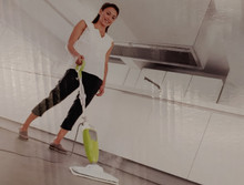 For use on any surface unaffected by water.  Hardwood, Vinyl, Tile, Pergo etc....