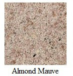 "Almond Mauve 12""x12"" Tile - Two Sides Bullnosed"