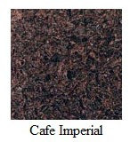 "Cafe Imperial Granite 12""x12"" Tile - One Side Bullnosed"