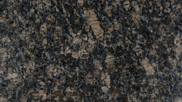 "English Brown Granite 12""x12"" Tile - One Side Bullnosed"