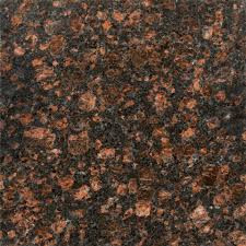 Tan Brown Granite Sample Bullnose Piece