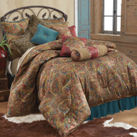 San Angelo 4 piece luxury queen bedding set