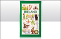 iconic Ireland Tea Towel