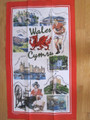 iconic Wales Tea Towel , 10 only left