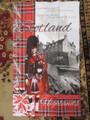 Heraldic Scotland Tea Towel , 6 x 6 left