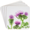 Thistle Coaster Set 4