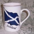 Scotland Flag Mug