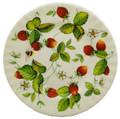 Alpine Strawberry Dessert Plate