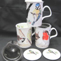 Garden Birds  Infuser Mug