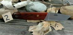 Landi Knives - PSK - Cocobolo Wood B - A2 Steel