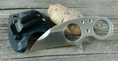 Brous Blades - Silent Soldier V1 - Satin Finish - Neck Knife
