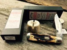 Schatt & Morgan Cutlery - #69 Jack Special -(Clip) - Burnt Stag -B