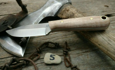 LT Wright Handcrafted Knives  -  Frontier Trapper  - Nice Maple Wood Handles (5)- AEB-L Stainless Steel - NEW