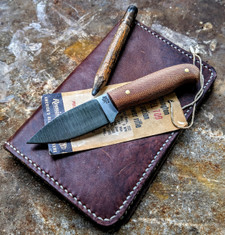 LT Wright  Handcrafted Knives - Patriot -  Natural Micarta - Matte Finish  - Flat Grind - 01 Tool Steel - NEW