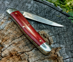 Tidioute - (NEW) 38 Special - Red Linen Micarta