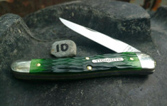 Tidioute - (NEW) 38 Special - Tractor Green Jig Bone -10