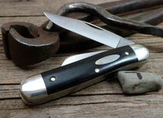 Tidioute - Calf Roper - Gabon Ebony Wood Handles-7