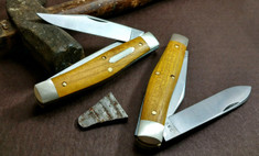 Great Eastern Cutlery - Tidioute - Bull Moose - Osage Orange Wood