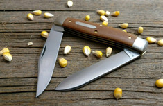 Great Eastern Cutlery - Tidioute - Bull Moose - Natural Canvas Micarta