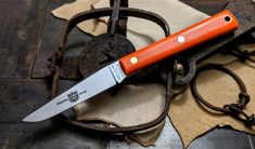 Great Eastern Cutlery - #H20 - Muskrat Hunter - Orange Delrin Handles