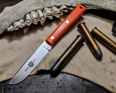 Great Eastern Cutlery - #H20 - Skinner Hunter - Orange Delrin Handles