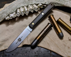 Great Eastern Cutlery - #H20 - Skinner Hunter - OD Green Canvas Micarta Handles