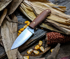 LT Wright  Handcrafted Knives - Patriot -  Rustic Brown Micarta  - Matte Finish - Flat Grind - 3V Steel - NEW