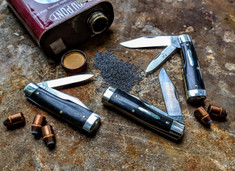 GEC -Tidioute - #44 Gunstock - Buffalo Jack -  Gabon Ebony Wood