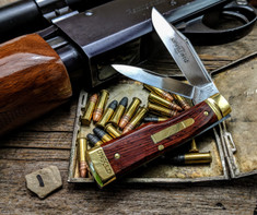 GEC - Northfield - #44 Gunstock - Buffalo Jack -  Cocobolo Wood -1