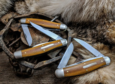Great Eastern Cutlery -Tidioute - Dixie Stockman - Natural Canvas Micarta