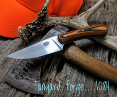 Tanyard Forge - Hand Forged Hunter  - 22 Degree Secondary Bevel - 1084 High Carbon Steel - NEW