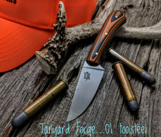 Tanyard Forge - Hand Forged Hunter  - 22 Degree Secondary Bevel - 01 Tool Steel - NEW
