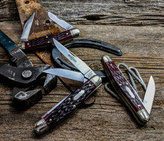 Great Eastern Cutlery -Northfield - Dixie Stockman - Elderberry Jig Bone