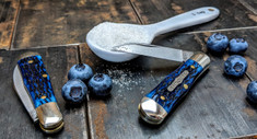 Great Eastern Cutlery - Tidioute -  Pemberton -Dark  Blue Jigged Bone Handles