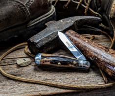 Great Eastern Cutlery - Northfield -  Pemberton -Sambar Stag Handle - 1 - Two Blade