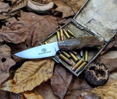 Arno Bernard Knives - Bushbaby Series - Squirrel - Giraffe Bone Handles - 1A