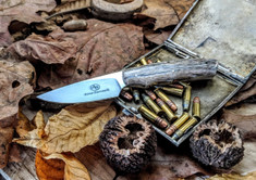 Arno Bernard Knives - Bushbaby Series - Squirrel - Giraffe Bone Handles - 2A