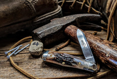 Great Eastern Cutlery - Northfield -  Pemberton -Sambar Stag Handle - 4 - Two Blade